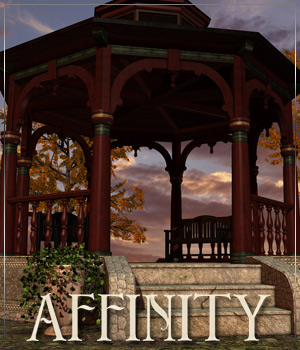 AFFINITY for Magic Gazebo 3D Models Anagord