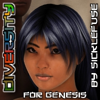 Diversity for Genesis 3D Figure Assets SickleYield
