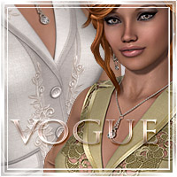 Vogue for Office Suit III 3D Models 3D Figure Assets Romantic-3D