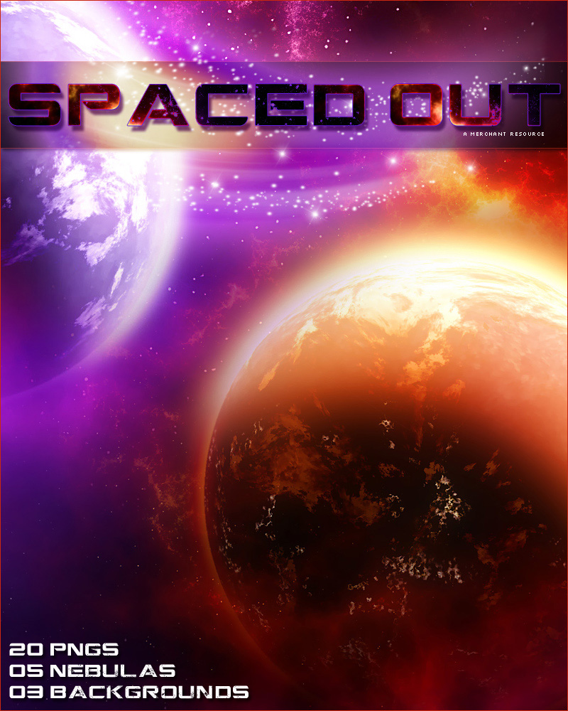 Merchant Resource: Spaced Out by Sveva