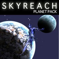Skyreach Planets Pack 3D Models Razor42