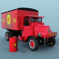 Mack AC delivery 1935 ( for Vue ) 3D Models 3DClassics