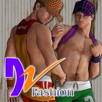 DZ Fashion Set 3 for M4H4Guy4 3D Figure Essentials dzheng