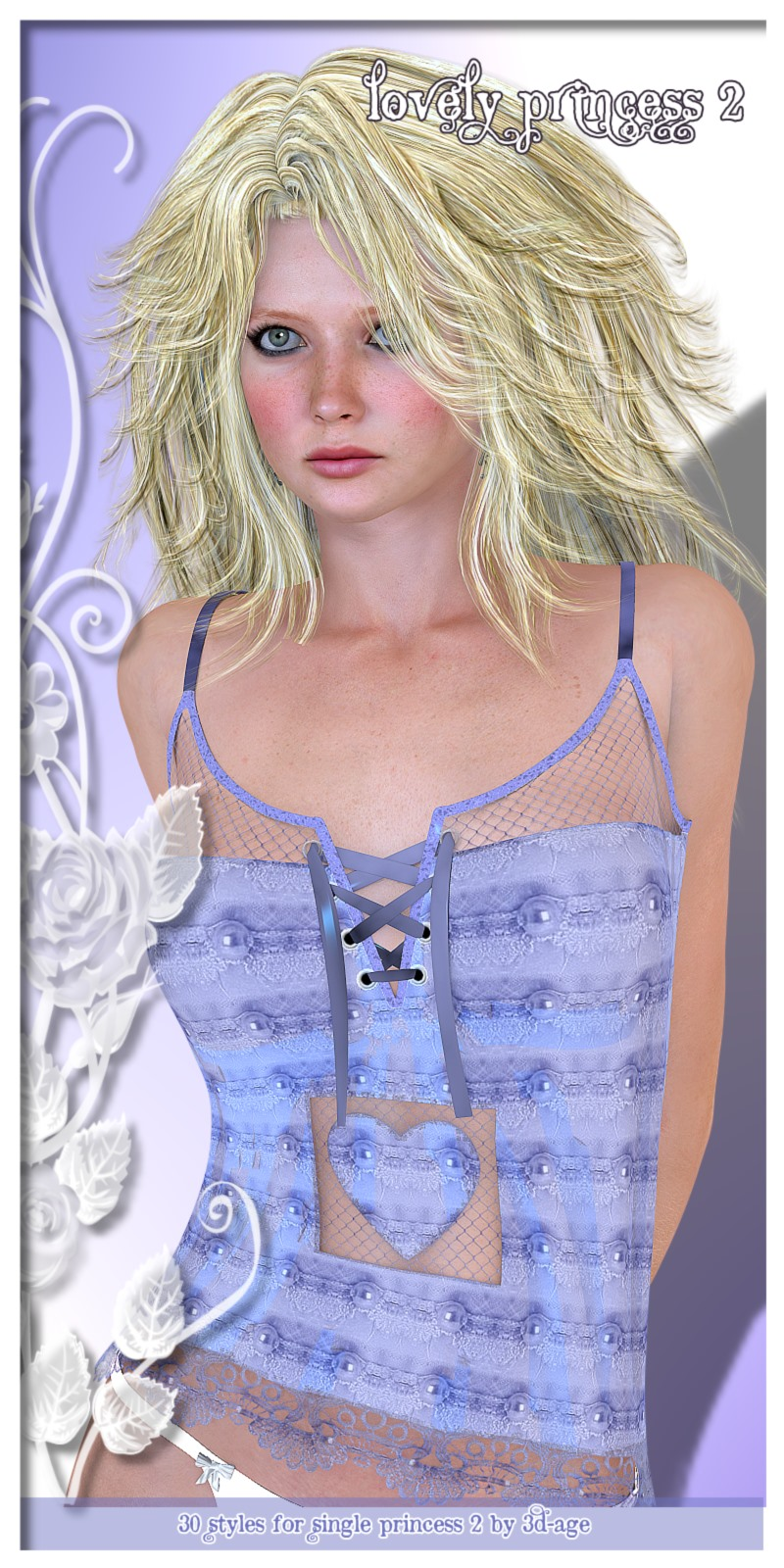 Lovely Princess - 30 Texturestyles for Single-Princess II