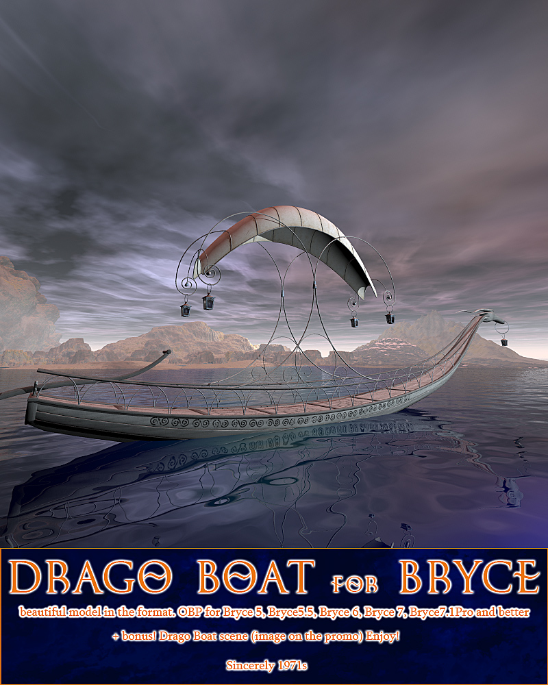 Drago Boat for Bryce