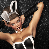 BUNNY TIME Clothing & Hair for Victoria 4 image 4