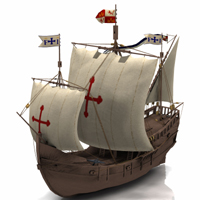 Pinta (for Poser) 3D Models 3D Figure Assets Digimation_ModelBank
