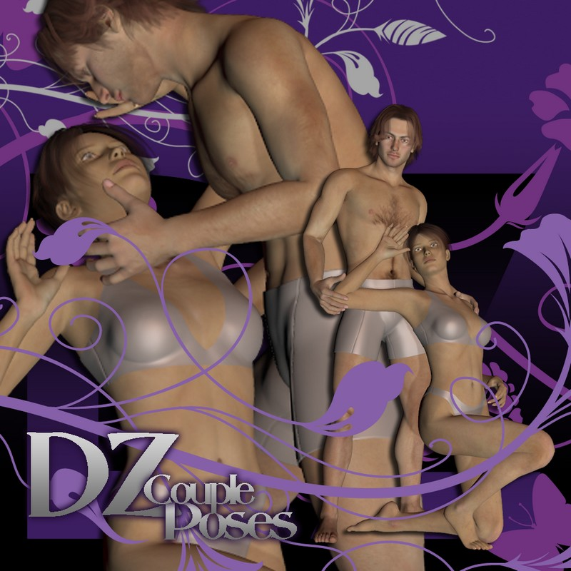 DZ Couple Poses Set 6
