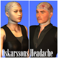 Oskarsson Headache 3D Figure Essentials Oskarsson
