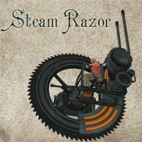 Steam Razor Transportation Themed 1971s