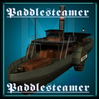 Paddle Steamer 3D Models Mike2010