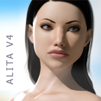 Alita V4 3D Figure Essentials RetroDevil