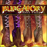 Purgatory for Venus Boots Footwear Themed Sveva