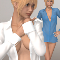 Hot Girl IV 3D Figure Assets 3D-Age