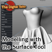 Modelling with the Surface Tool Tutorials : Learn 3D Fugazi1968