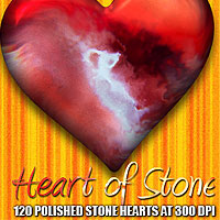 Heart of Stone 3D Models 2D Graphics designfera