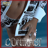 Hot Girl IV - CONTRAST Themed Clothing renapd
