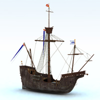 Santa Maria (for Vue)  Digimation_ModelBank