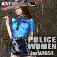 POLICE WOMEN for VAGS4 3D Figure Essentials billy-t