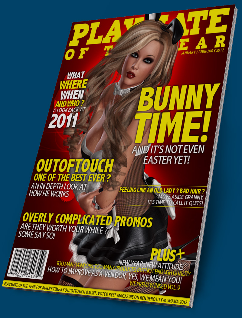 Playmate Of The Year for BUNNY TIME Clothing