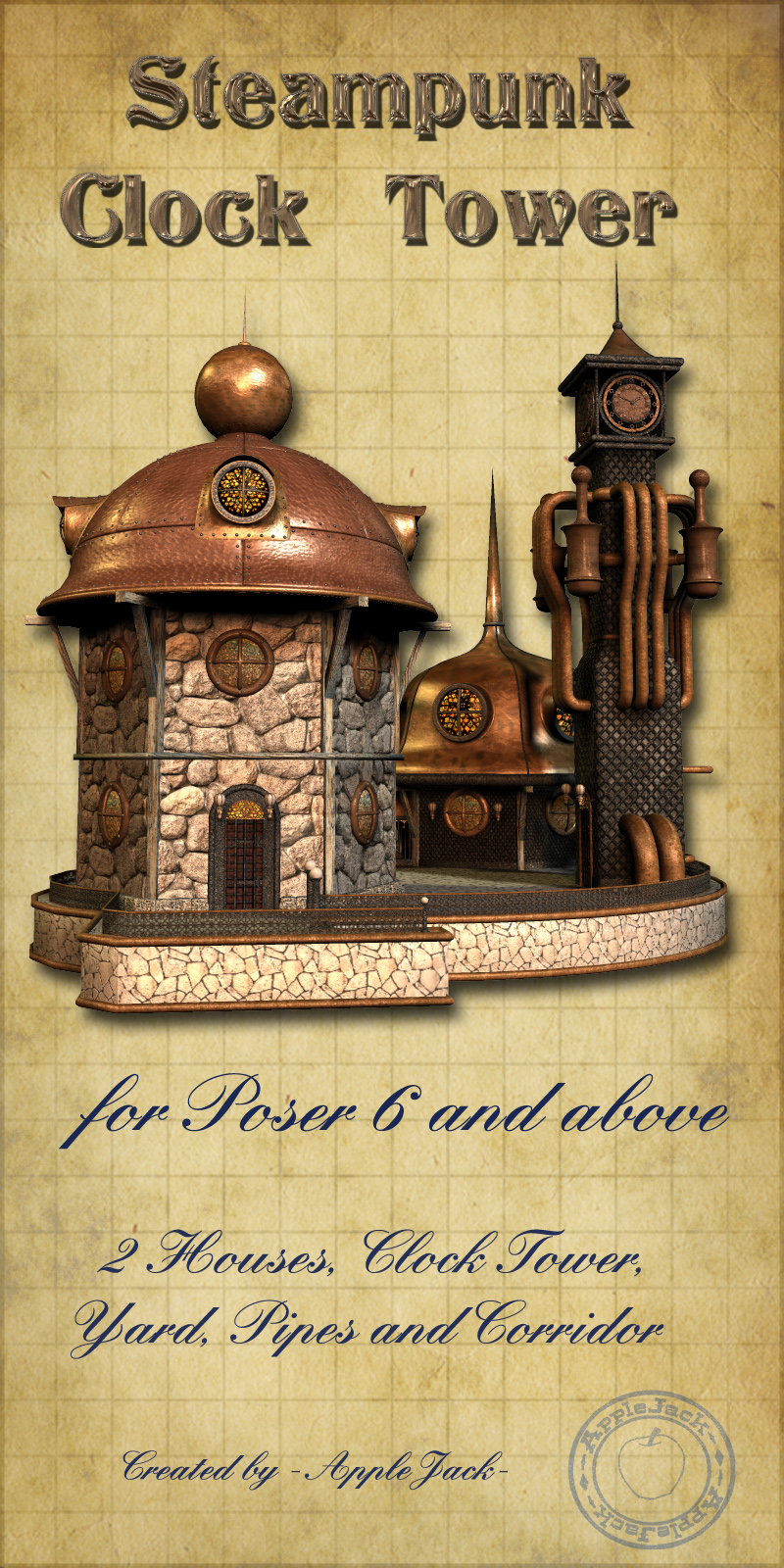AJ_Steampunk_Clock_Tower