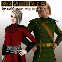 SF Leathers for Defiant 3D Figure Essentials SickleYield