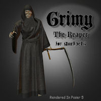 Grimy 3D Figure Essentials 3D Models pappy411
