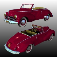 Peugeot 203 Cabriolet by Nationale7