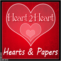 Heart-2-Heart Themed 2D And/Or Merchant Resources Bez