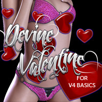 Devine Valentine V4 Basics 3D Figure Essentials 3DSublimeProductions