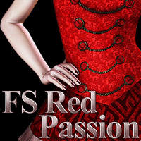 FS Red Passion Themed 2D And/Or Merchant Resources FrozenStar