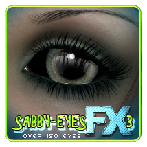 Sabby-EyesFX3 3D Figure Essentials 2D Sabby