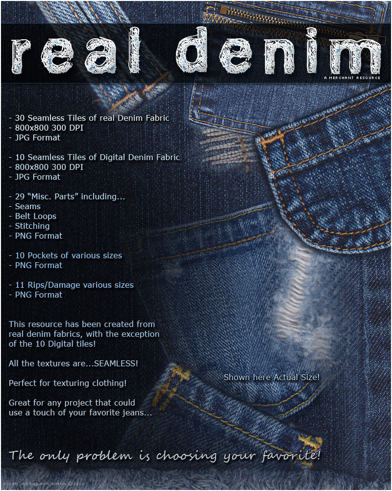 Merchant Resource: Real Denim