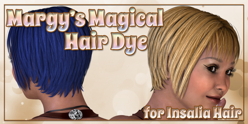 Margy's Magical Hair Dye for Insalia Hair