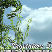 Vegetation 3 by designfera