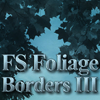 FS Foliage Borders III 2D And/Or Merchant Resources Themed FrozenStar