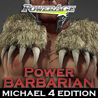 Power Barbarian M4 Edition 3D Models 3D Figure Assets powerage