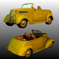 FORD 1937 HOT ROD 3D Models Ourias3D