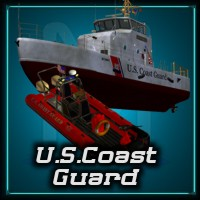 US Coast Guard 3D Figure Assets 3D Models Mike2010