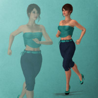 Running Alyson 3D Figure Essentials wenke