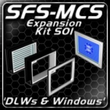 SFS-MCS 'DLWs & Windows Expansion Kit' (S01) 3D Models ShadowGraphics3D