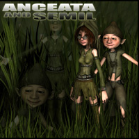 Anceata and Semil Stand Alone Figures Nursoda