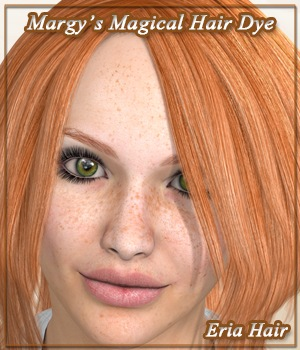 Margy's Magical Hair Dye for Eria Hair 3D Figure Assets MargyThunderstorm