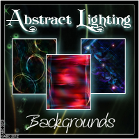Abstract Lighting Themed 2D And/Or Merchant Resources Bez