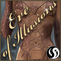 Eve of Illusions for Bat outfit V4 3D Figure Assets CJ-studio