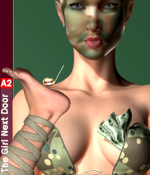 GND A2 ClubWear ArmyDanZZ 3D Figure Essentials Karth
