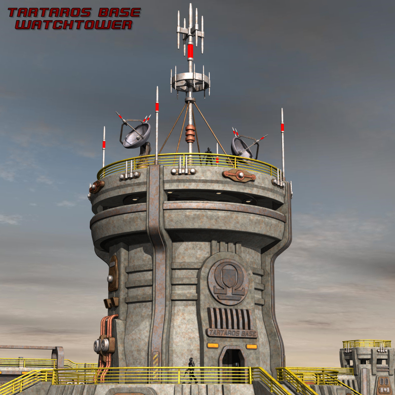 Tartaros Base Watchtower
