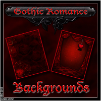 Gothic Romance 2D And/Or Merchant Resources Themed Bez