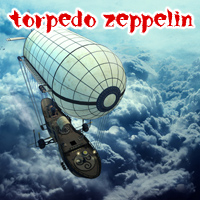 Torpedo Zeppelin Transportation Themed 1971s