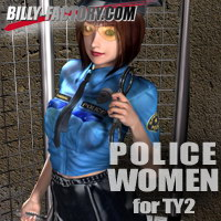 POLICE WOMEN for TY2 3D Figure Essentials billy-t